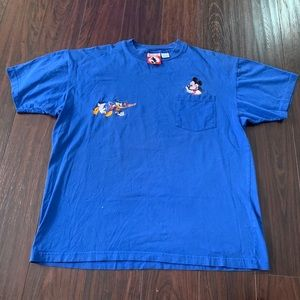 Vintage Disney Mickey Inc Mickey Donald Duck shirt
